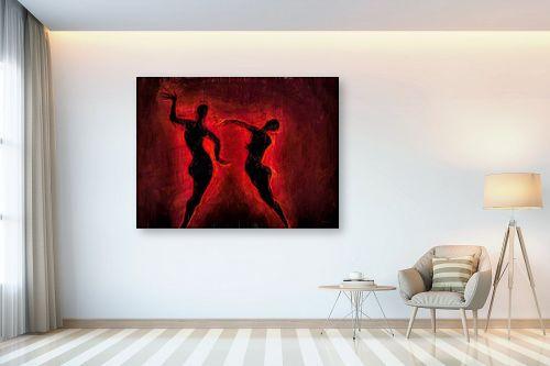 תמונה לבית - גורדון - ריקוד האש - מק''ט: 327052