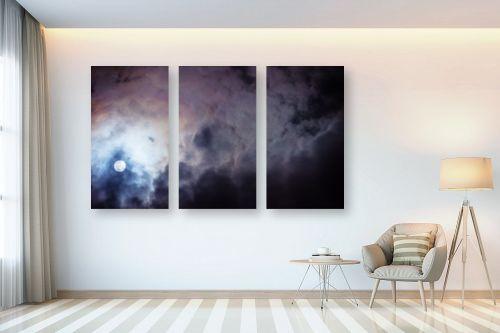תמונה לבית - איה אפשטיין - ירח בעננים - מק''ט: 327135