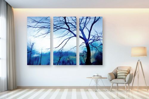 תמונה לבית - גורדון ארט - היער הכחול - מק''ט: 328280