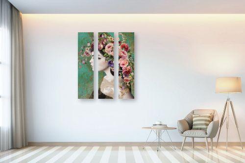 תמונה לבית - בתיה שגיא - לדבר בפרחים - מק''ט: 328889