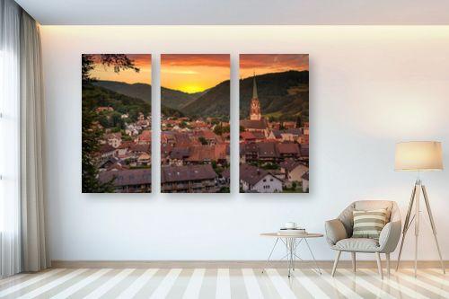 תמונה לבית - ניקולאי טטרצ'וק - עיר קטנה בגרמניה - מק''ט: 328890
