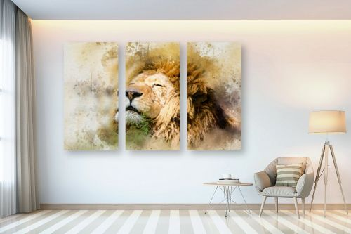תמונה לבית - Artpicked - אריה - מק''ט: 329700