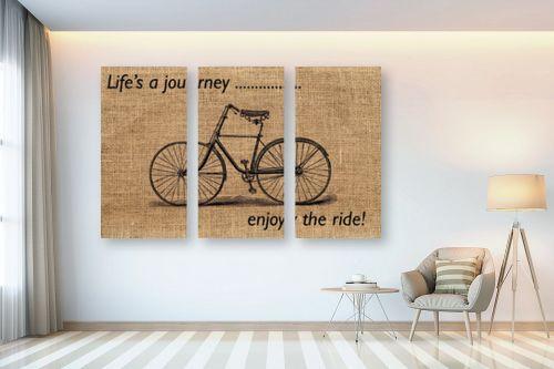 תמונה לבית - Artpicked - life is a journey - מק''ט: 329758