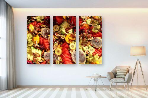 תמונה לבית - מתן הירש - פירות צבעוניים - מק''ט: 330365