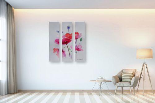 תמונה לבית - נטליה ברברניק - פרחים עדינים - מק''ט: 330407