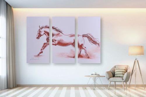 תמונה לבית - נטליה ברברניק - סוס אש - מק''ט: 330489