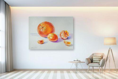 תמונה לבית - נטליה ברברניק - תפוז ומנדרינות - מק''ט: 330619