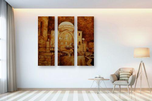 תמונה לבית - שמואל מושניק - בית הכנסת החורבה - מק''ט: 330978