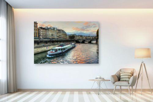 תמונה לבית - מתן הירש - סירה בפריז - מק''ט: 331331