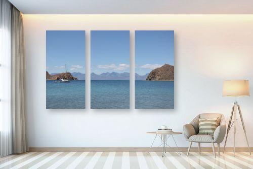 תמונה לבית - מתן הירש - ים כחול במקסיקו - מק''ט: 331654