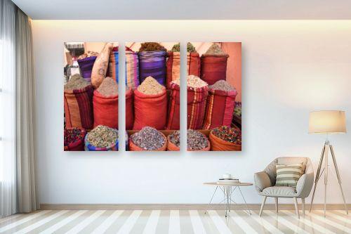 תמונה לבית - אורלי שטטינר - שקים אדומים עם תבלינים - מק''ט: 332017