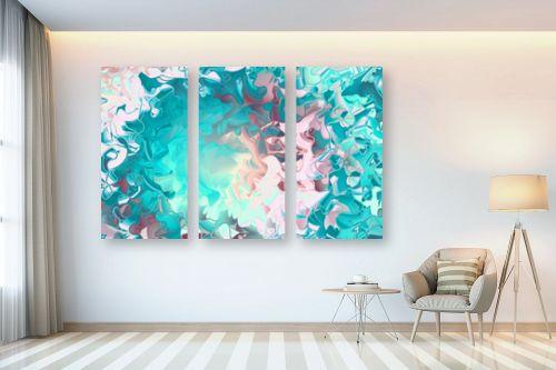 תמונה לבית - Artpicked - ים של צבעים - מק''ט: 332533
