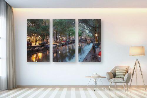 תמונה לבית - Artpicked - תעלה באמסטרדם - מק''ט: 333002