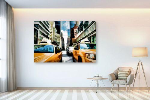 תמונה לבית - Artpicked - yellow cab - מק''ט: 333008