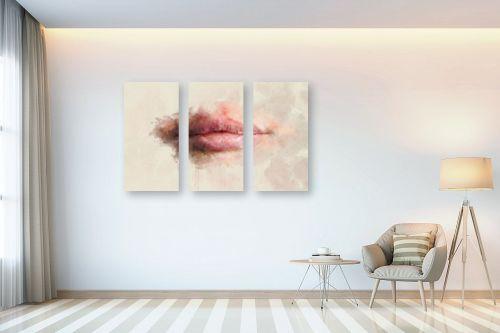 תמונה לבית - Artpicked - שפתיים - מק''ט: 333301