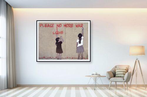 תמונה לבית - Artpicked - no more war - מק''ט: 333626