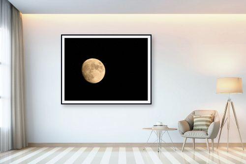 תמונה לבית - משה יפה - ירח יזרעאלי - מק''ט: 3792