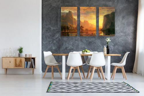 תמונה לבית - אלברט בירשטאדט - Albert Bierstadt 060 - מק''ט: 124667