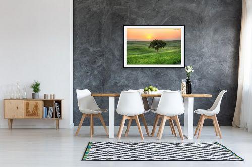 תמונה לבית - איזבלה אלקבץ - עץ בודד (HDR) - מק''ט: 304018