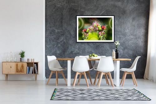 תמונה לבית - ענת אומנסקי - גשר הפרחים של החיפושיות  - מק''ט: 313739