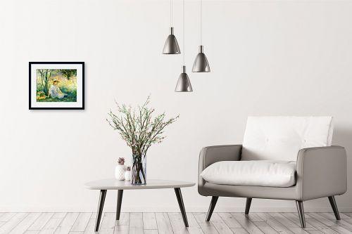 תמונה לבית - ברת מוריזו - Morisot Berthe 064 - מק''ט: 131792