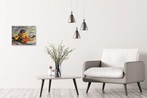 תמונה לבית - שולי חיימזון - משחילה פרחים - מק''ט: 158550