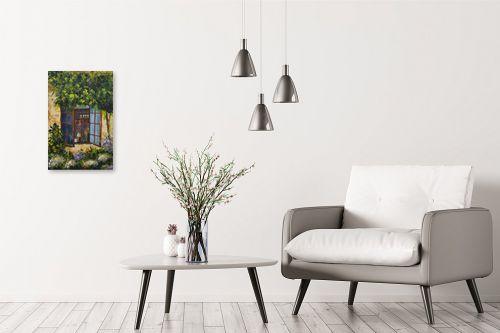 תמונה לבית - רוחלה פליישר - החלון לגינה - מק''ט: 174259