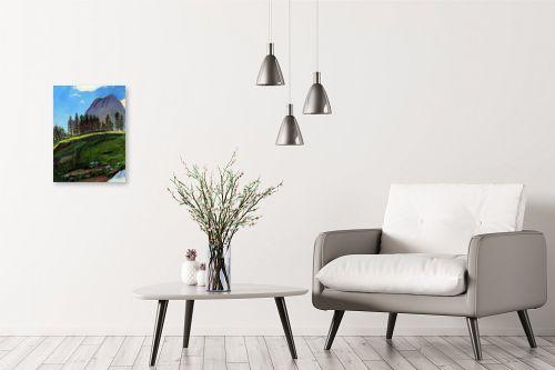 תמונה לבית - חנה כרמי - נוף הרים - מק''ט: 202312