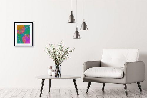 תמונה לבית - רוזה לשצ'ינסקי - עלה  ופרח - מק''ט: 204265