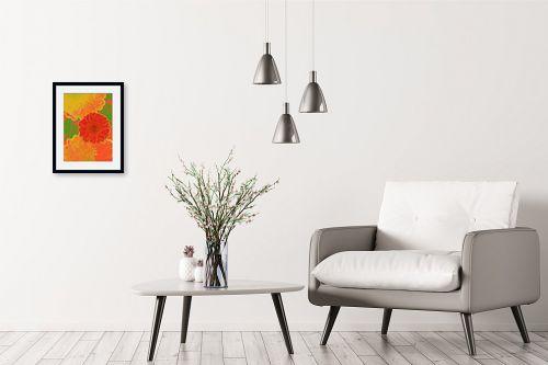 תמונה לבית - רוזה לשצ'ינסקי - פרח אדום - מק''ט: 204266