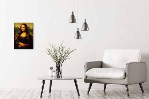 תמונה לבית - לאונרדו דה וינצי - מונה ליזה - מק''ט: 303466