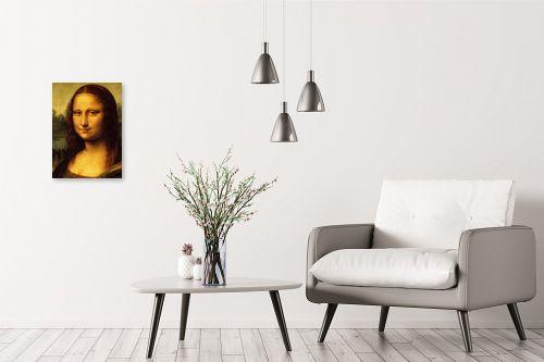 תמונה לבית - לאונרדו דה וינצי - Mona Lisa La gioconda - מק''ט: 303468