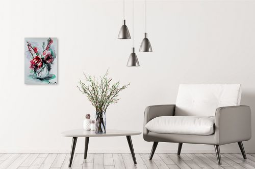 תמונה לבית - מרים קופפרשטיך - פרחים - מק''ט: 325204