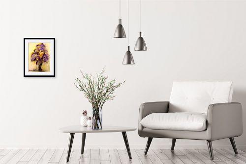 תמונה לבית - מרים קופפרשטיך - פרחים - מק''ט: 325977