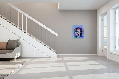 תמונה לחדר מדרגות - דוד סלע - ג'ניס ג'ופלין - מק''ט: 100596
