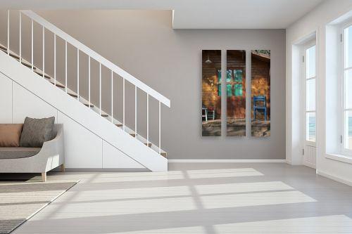 תמונה לחדר מדרגות - מיכל פרטיג - צריף בכפר - מק''ט: 101784