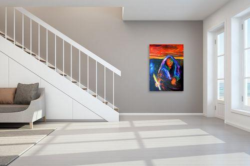תמונה לחדר מדרגות - אסתר חן-ברזילי - אשה - מק''ט: 106863