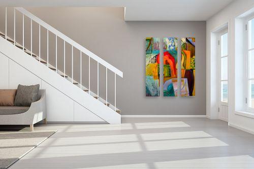 תמונה לחדר מדרגות - אסתר חן-ברזילי - דלתות ושערים - מק''ט: 106873