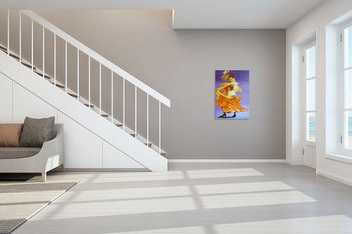 תמונה לחדר מדרגות - אסתר חן-ברזילי - רקדנית פלמנקו - מק''ט: 106969