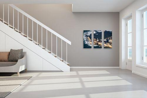 תמונה לחדר מדרגות - ארי בלטינשטר - מגדל אור בעכו - מק''ט: 110831