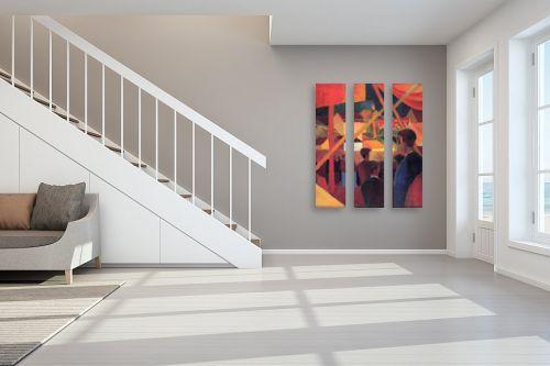 תמונה לחדר מדרגות - אוגוסט מקה - August Macke 107 - מק''ט: 115690