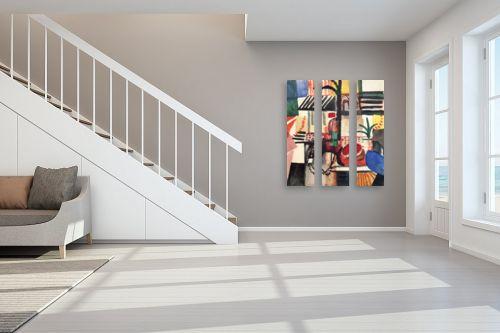 תמונה לחדר מדרגות - אוגוסט מקה - August Macke 127 - מק''ט: 115712