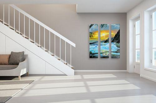 תמונה לחדר מדרגות - אסתר חן-ברזילי - שקיעה - מק''ט: 120061