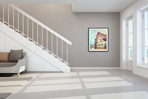 תמונה לחדר מדרגות - אלפרד סיסלי - Alfred Sisley 008 - מק''ט: 124873