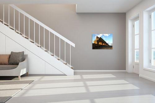 תמונה לחדר מדרגות - ארי בלטינשטר - אקוודוקט קסריה בשקיעה - מק''ט: 127780