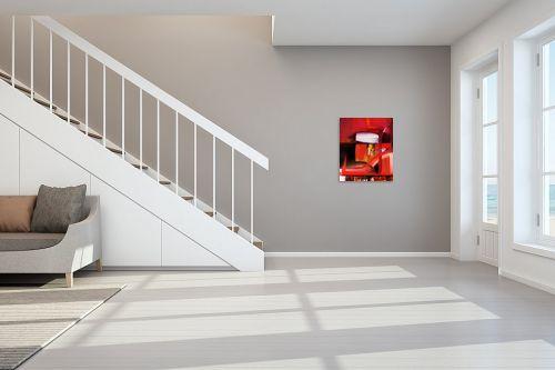 תמונה לחדר מדרגות - Red סטודיו - abstruct - מק''ט: 129759