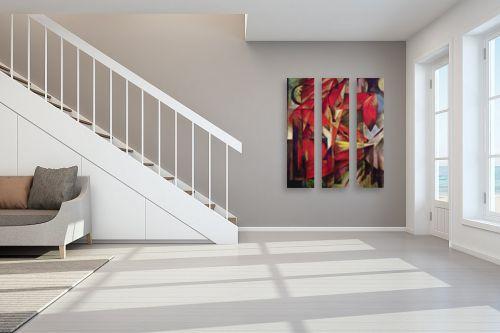 תמונה לחדר מדרגות - מרק פרנץ - Franz Mark 014 - מק''ט: 131621