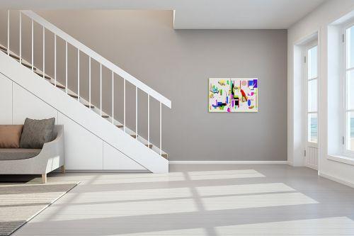 תמונה לחדר מדרגות - יונה ראובני - פנורמה 1 - מק''ט: 132779
