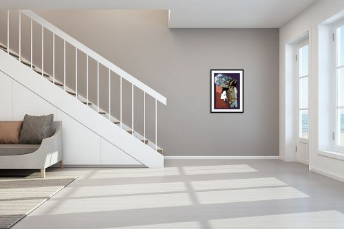 תמונה לחדר מדרגות - דוד סלע - הומאז' - מק''ט: 141599