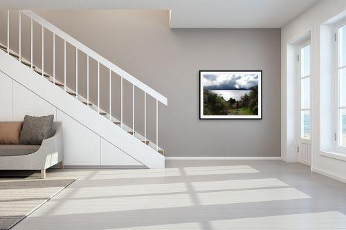 תמונה לחדר מדרגות - אסי סיני - heaven on earth - מק''ט: 149870